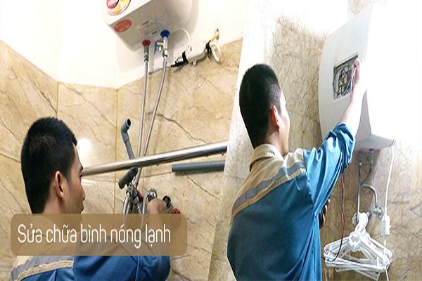 Sửa bình nóng lạnh tại Tô Vĩnh Diện giá thành dịch vụ rẻ