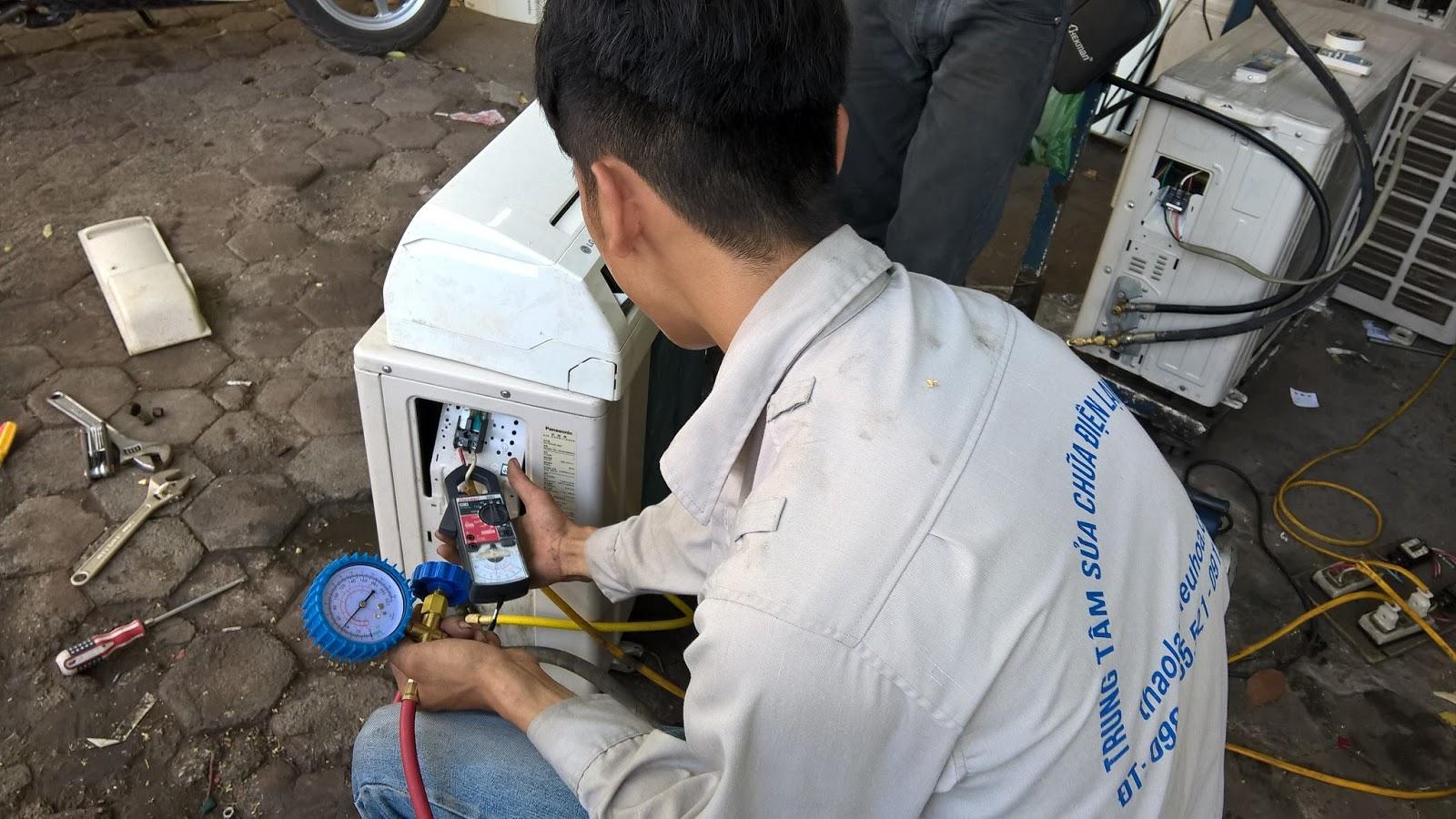 Dịch vụ sửa chữa điều hòa tại Thái Hà